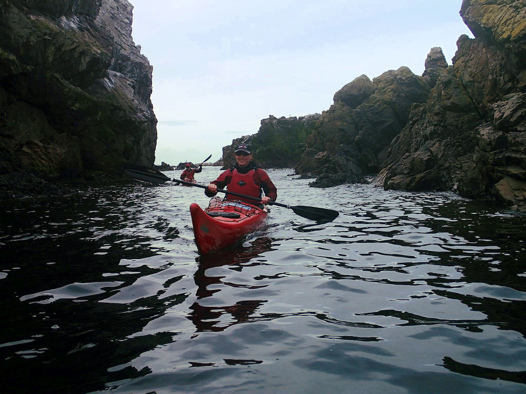 Sea Kayaking at Portknockie