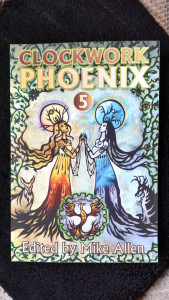 Clockwork Phoenix 4 front cover