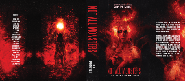 Not All Monsters dustjacket