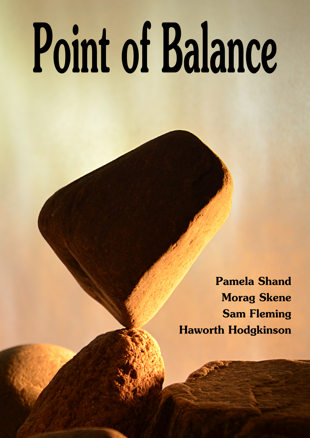Point of Balance chapbook launch